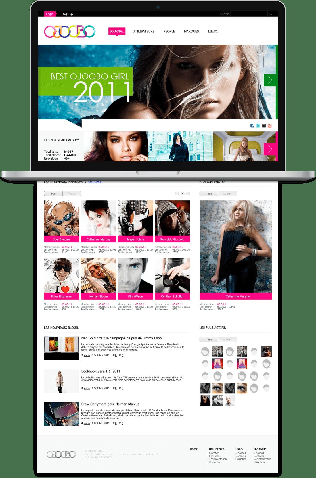Новостной портал о моде Ojoobo